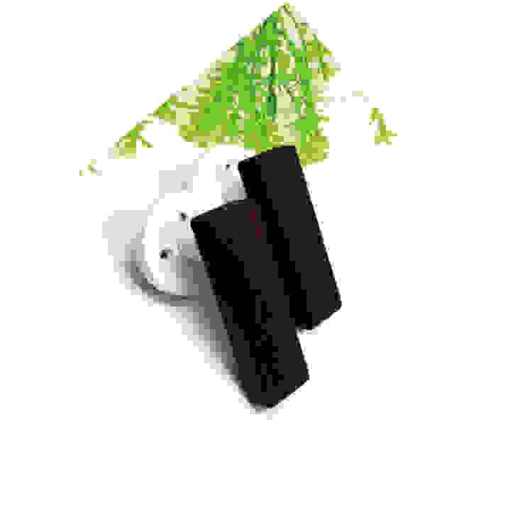 wooden door handle: 아키인포의 현대 ,모던 우드 우드 그레인