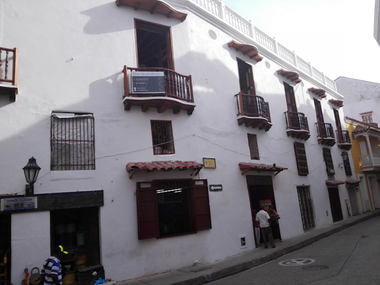 PROYECTO CALLE DEL CANDILEJO CON CALLE COCHERA DEL GOBERNADOR de LAGART SAS Colonial Ladrillos