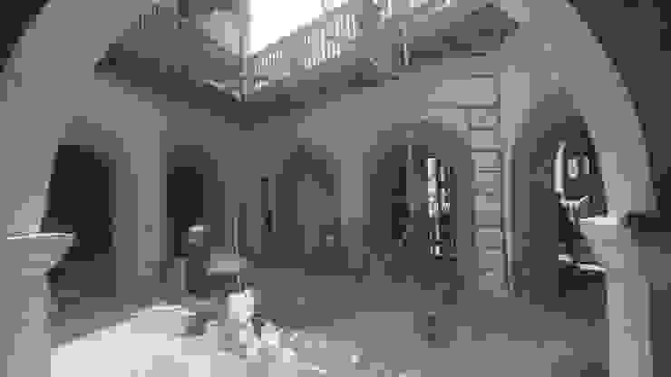 PROYECTO CALLE DEL CANDILEJO CON CALLE COCHERA DEL GOBERNADOR Balcones y terrazas de estilo colonial de LAGART SAS Colonial Ladrillos