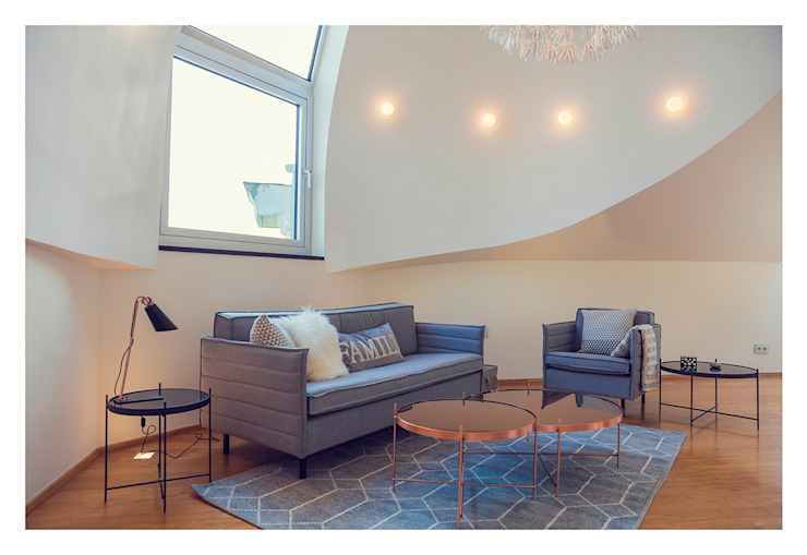 Living room by VIENNA HOME STAGING, Modern