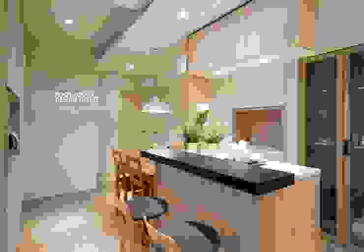 Dining room by 築本國際設計有限公司,