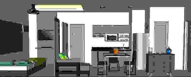 MKC DESIGN Modern dining room