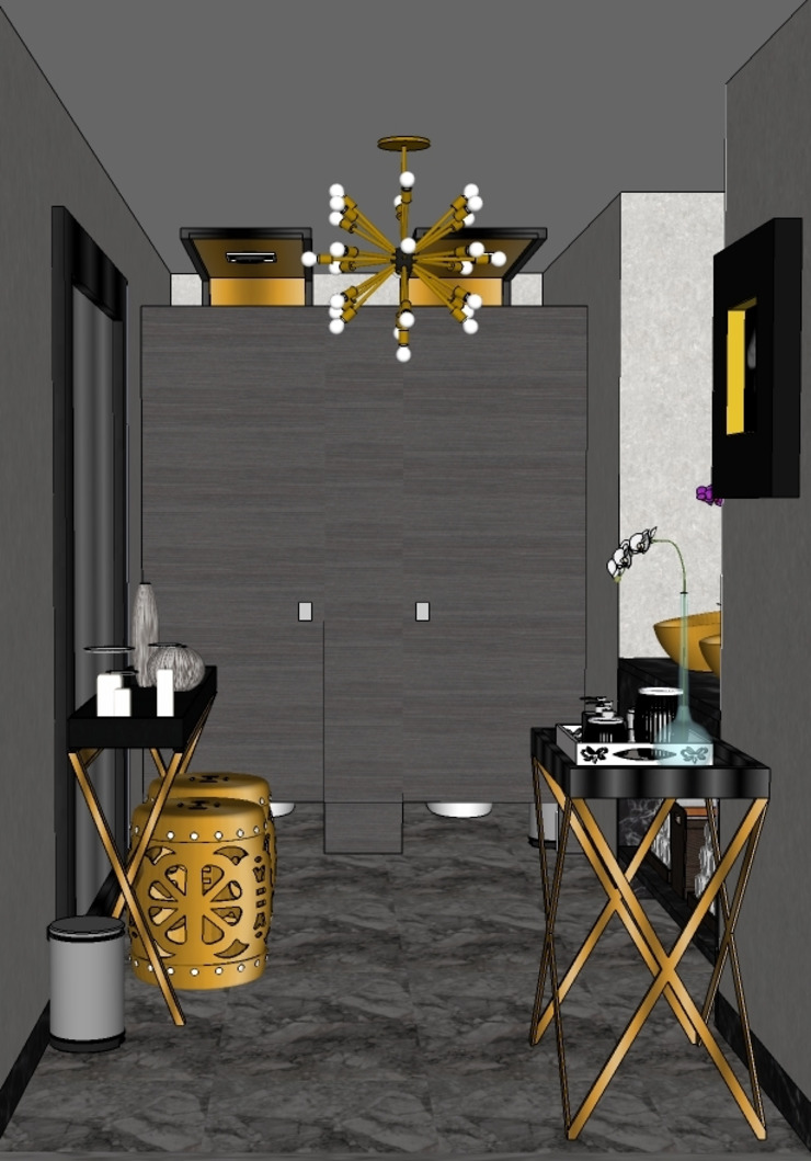 2015 PROJECTS Modern bathroom by MKC DESIGN Modern