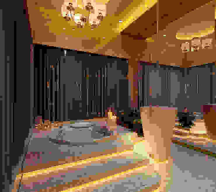 Phòng tắm phong cách kinh điển bởi homify Kinh điển Đá hoa