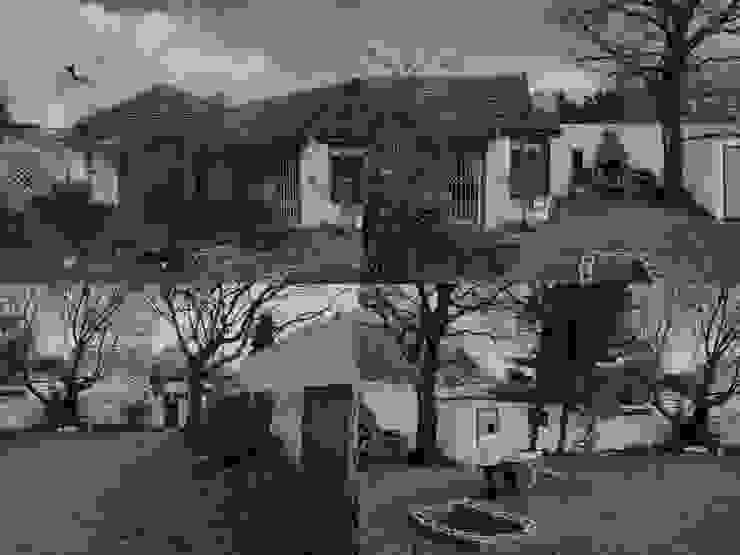 House exterior pre renovation Scandinavian style houses by Till Manecke:Architect Scandinavian