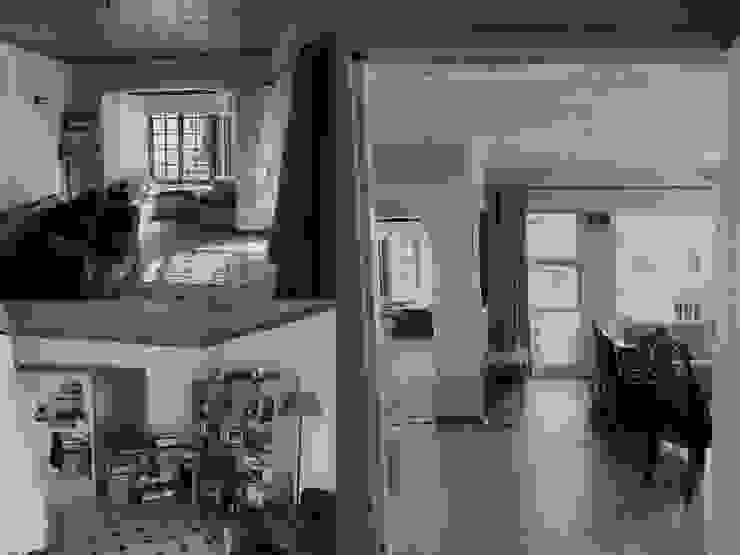 House interior pre renovation by Till Manecke:Architect Scandinavian