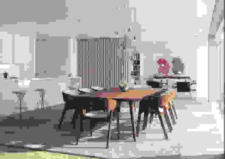 Onstudio Lda Modern dining room
