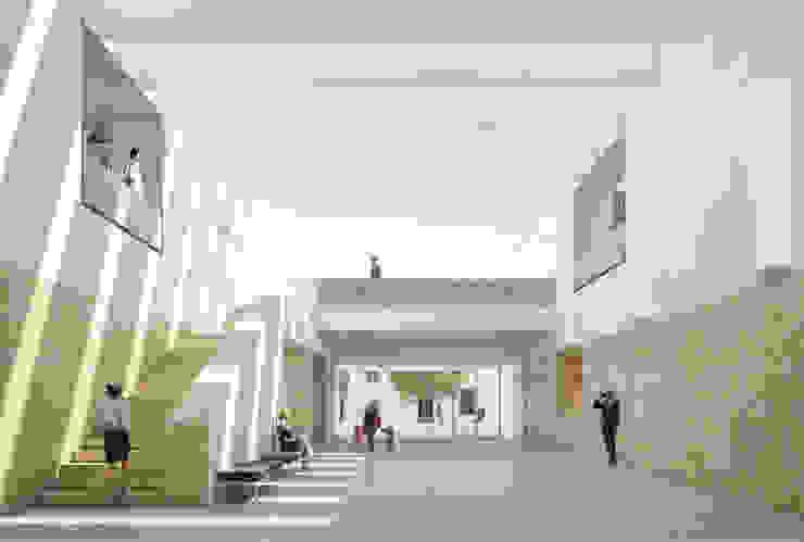 Biblioteca Municipal de Torres Vedras (Concurso) - RISCO por Onstudio Lda Moderno