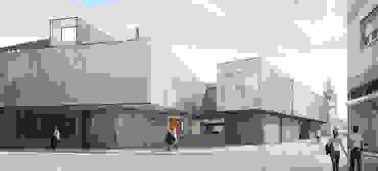 Biblioteca Municipal de Torres Vedras (Concurso) – RISCO por Onstudio Lda Moderno