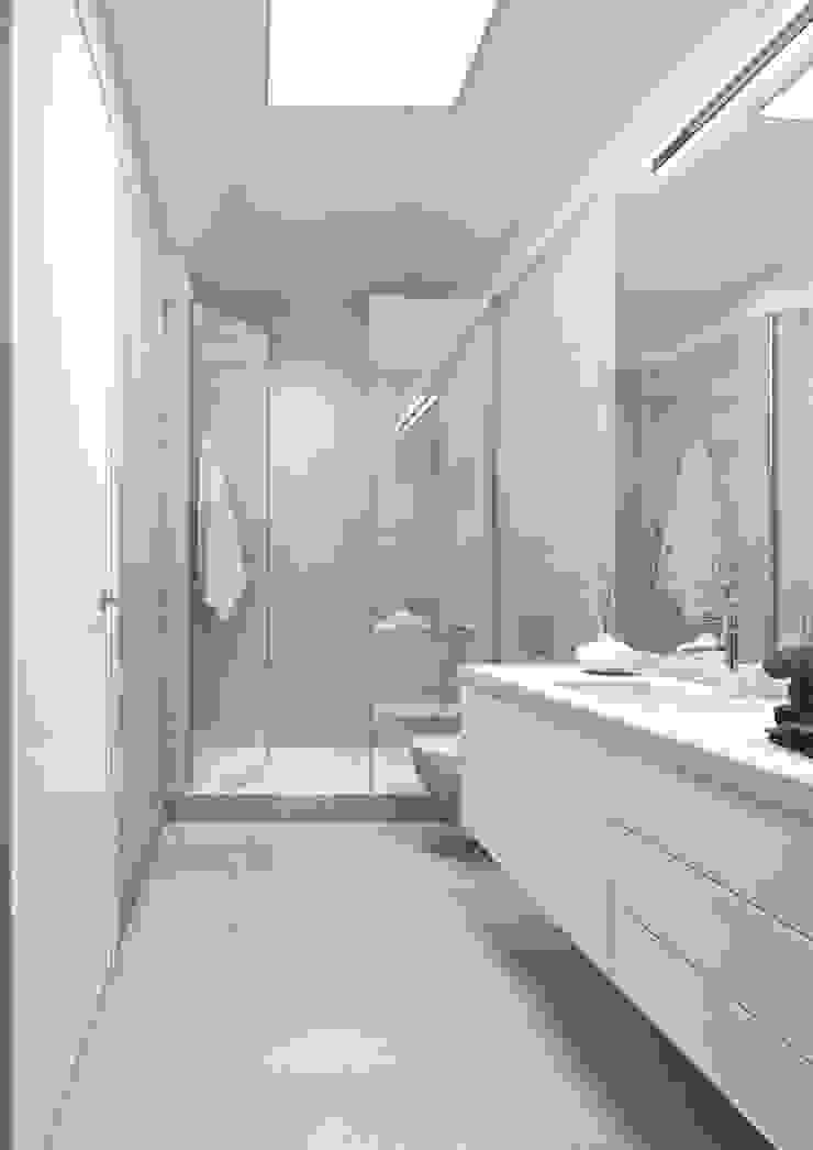 Boavista 62 – Estoril Real Estate Casas de banho modernas por Onstudio Lda Moderno