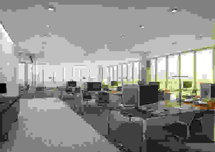 Onstudio Lda Oficinas de estilo moderno