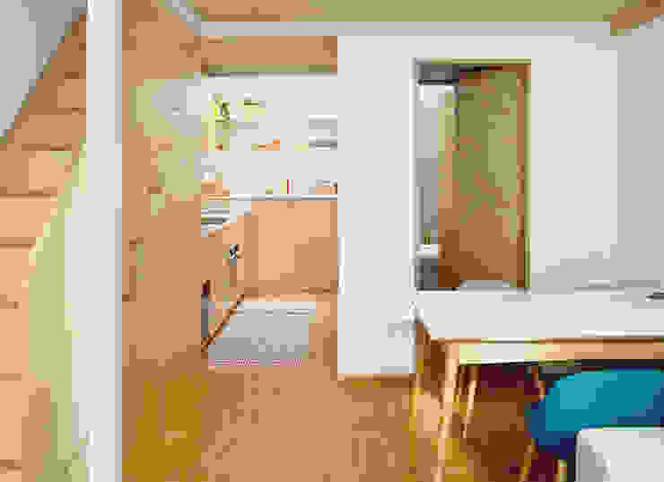 Living betulla BGP studio Cucina attrezzata Legno Effetto legno