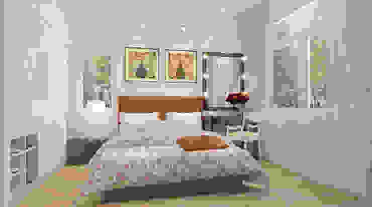 Phòng ngủ dành cho ông bà Phòng ngủ phong cách hiện đại bởi Công ty TNHH Xây Dựng TM – DV Song Phát Hiện đại