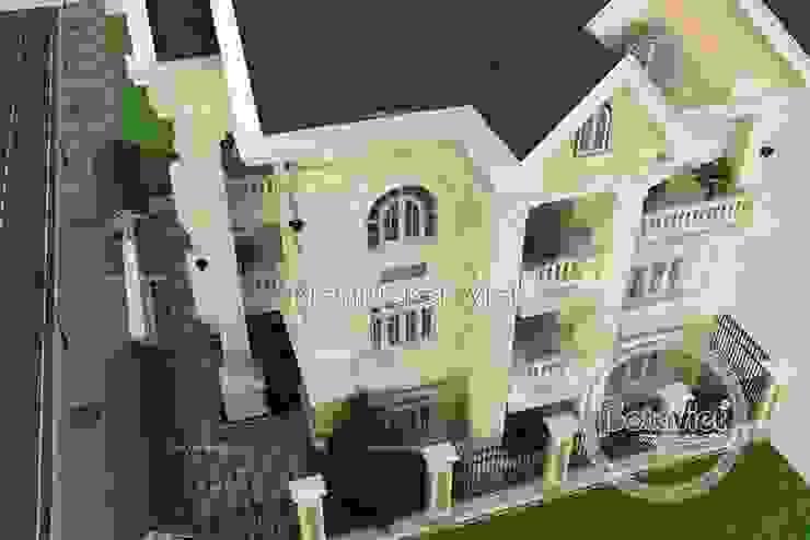Phối cảnh mẫu biệt thự kiểu Pháp tân cổ điển 3 tầng KT16061 bởi Công Ty CP Kiến Trúc và Xây Dựng Betaviet