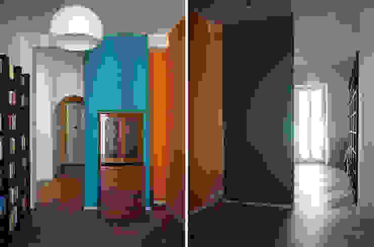 COFFICE Modern Çalışma Odası Ahşap Mavi