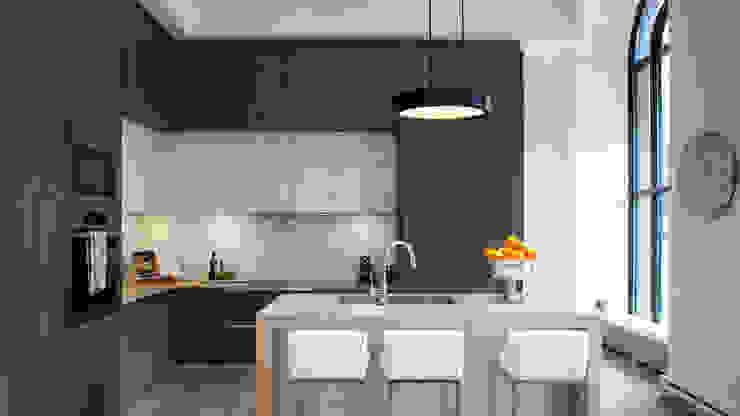 Le Victoire | Kitchen GD Arredamenti Built-in kitchens Chipboard Brown