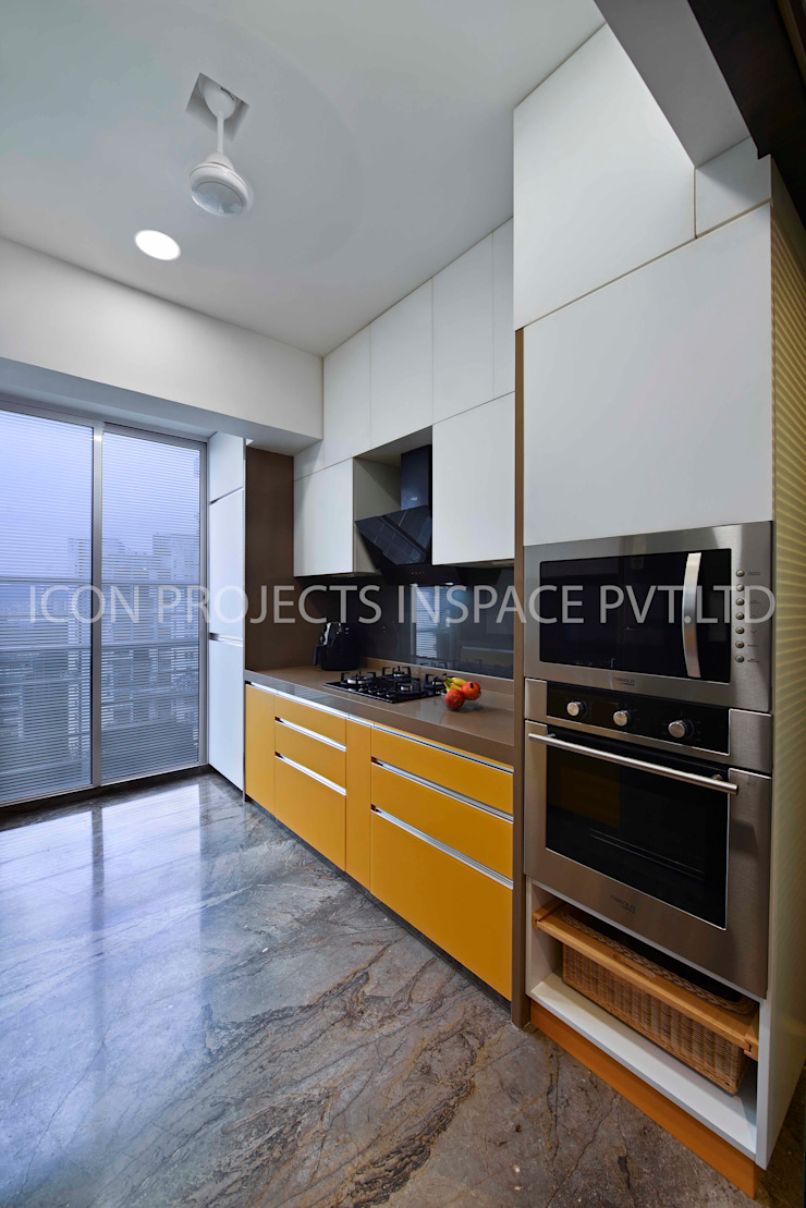 2BHK Residence by icon projects inspace pvt ltd Modern