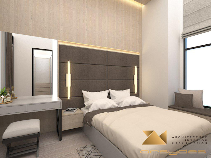 Kamar Tidur Utama Oleh Arsa Synergy Design