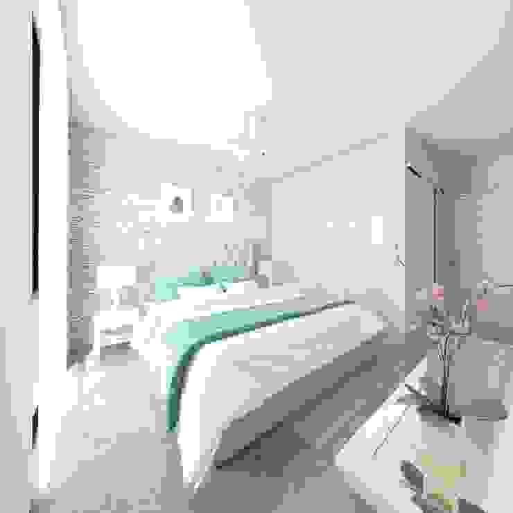 Recámara Principal Taller Veinte Dormitorios modernos