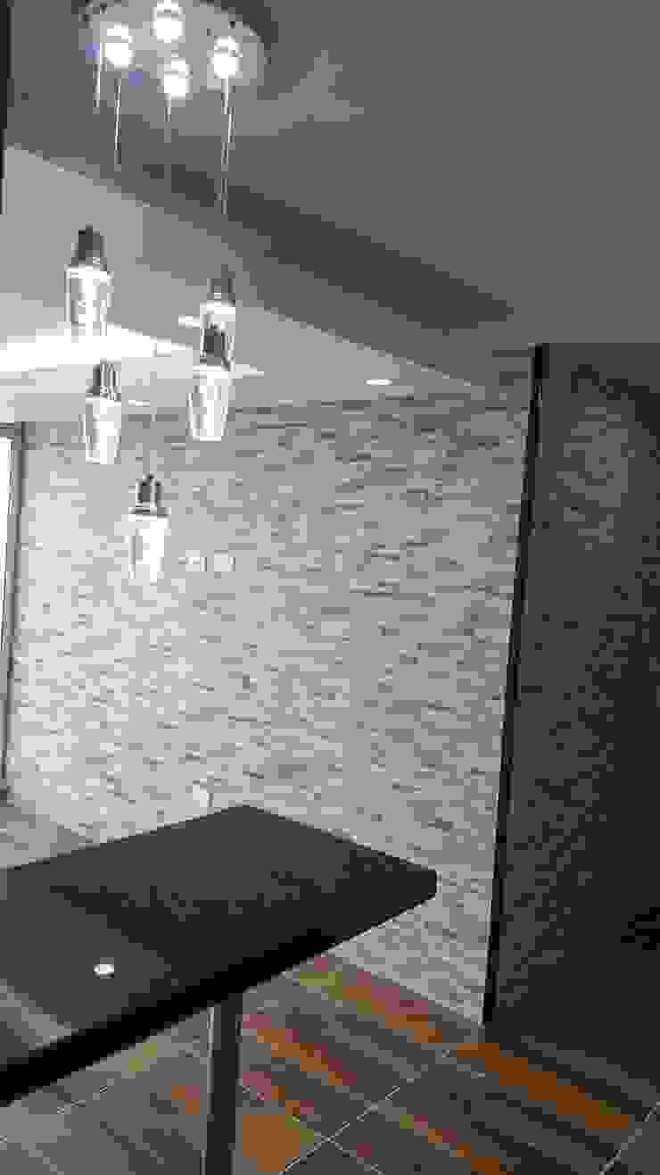 Diseño de interiores cojunto Fortezza Ibagué – Tolima Paredes y pisos de estilo moderno de LH INGENIERÍA 'Construcciones para la Vida' Moderno Contrachapado