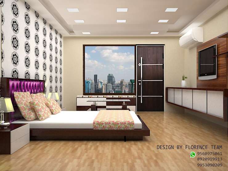 Residential project Classic style bedroom by Florence Management Services Classic Plywood
