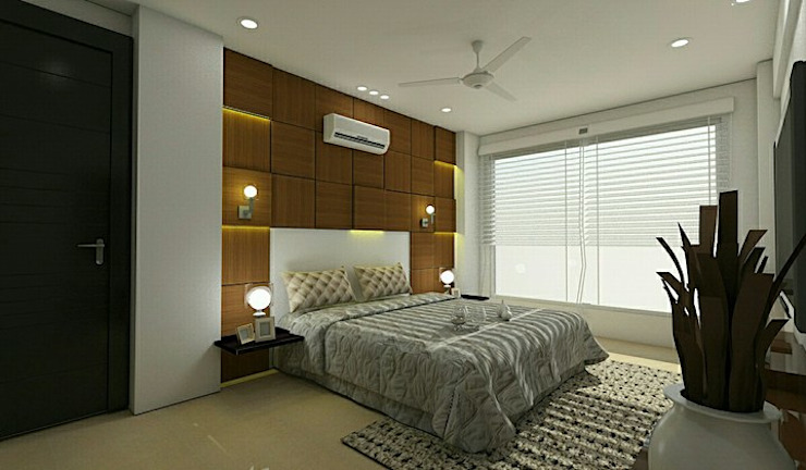 Residential project Classic style bedroom by Florence Management Services Classic MDF