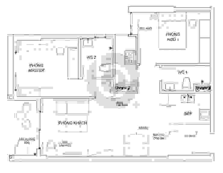 Project: HO1784 Apartment (IC)/ Bel Decor bởi Bel Decor