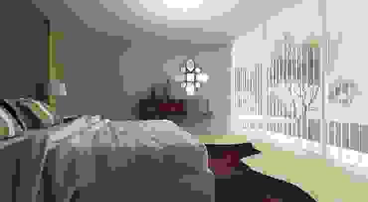 3D Bedroom: modern  by Alfaiate d'Interiores, Modern