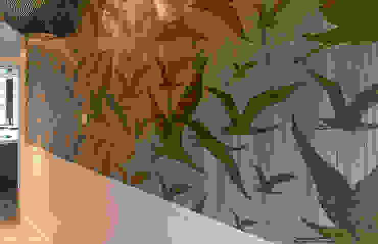 Hành lang, sảnh & cầu thang phong cách hiện đại bởi choc studio interieur Hiện đại