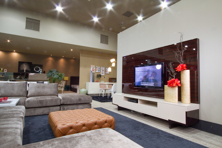 Living Room: modern  by Alfaiate d'Interiores, Modern
