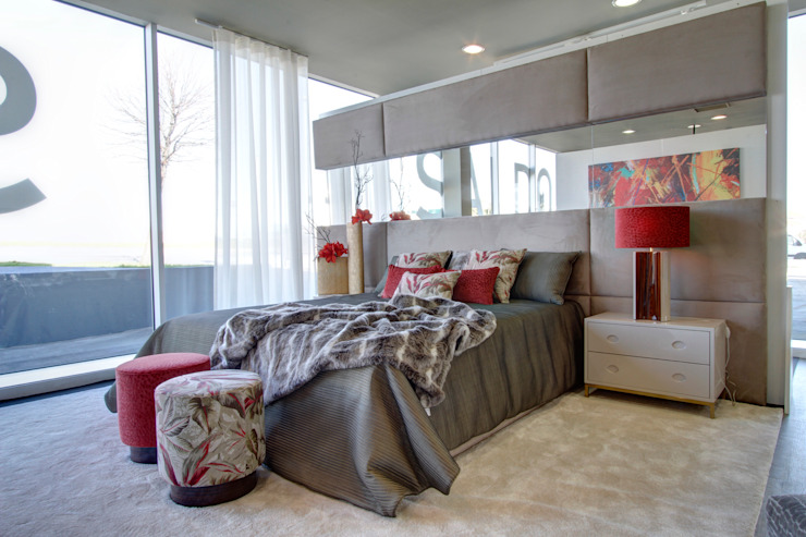 Bedroom: modern  by Alfaiate d'Interiores, Modern