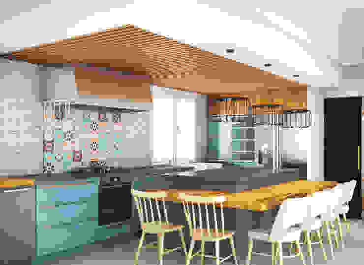 مطبخ تنفيذ Klausroom