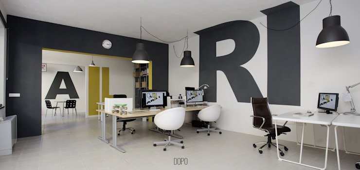 Openspace DOPO Complesso d'uffici moderni di Rifò Moderno