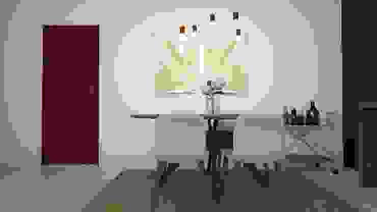 Alojamento turístico em Belém Tezturas • Arquitectura e Decoração de Interiores Salas de jantar escandinavas