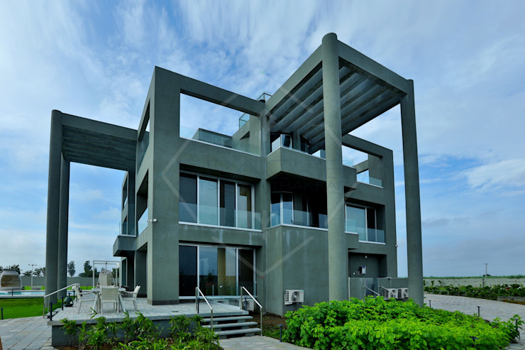 Farm house (Part 2) Modern houses by SPACCE INTERIORS Modern