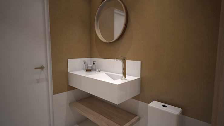 Classic style bathroom by Laís Galvez Arquitetura e Interiores Classic