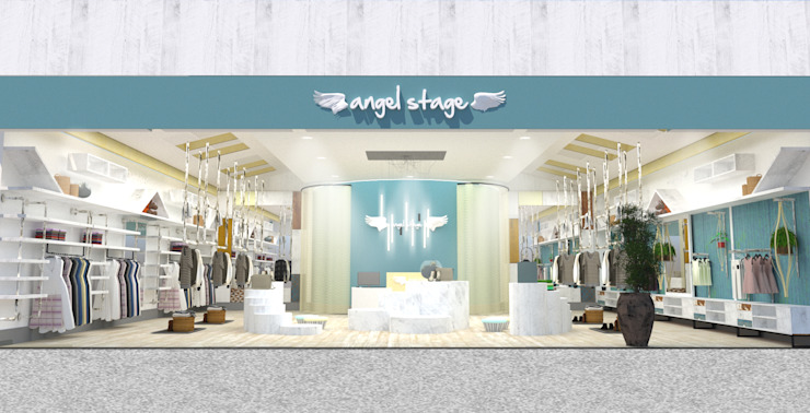China - Shop Interior Design by Yunhee Choe