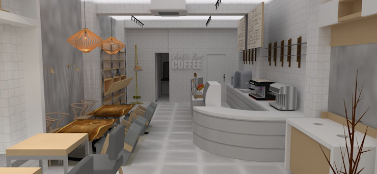 Seoul - Cafe Interior Design by Yunhee Choe