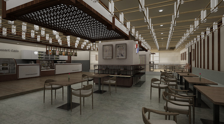Tokyo - Cafe Interior Design by Yunhee Choe