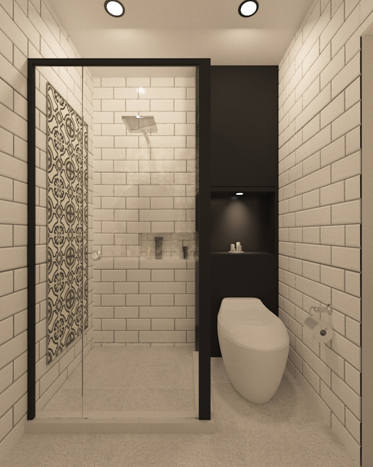 Bathroom Kamar Mandi Modern Oleh Noff Design Modern Keramik