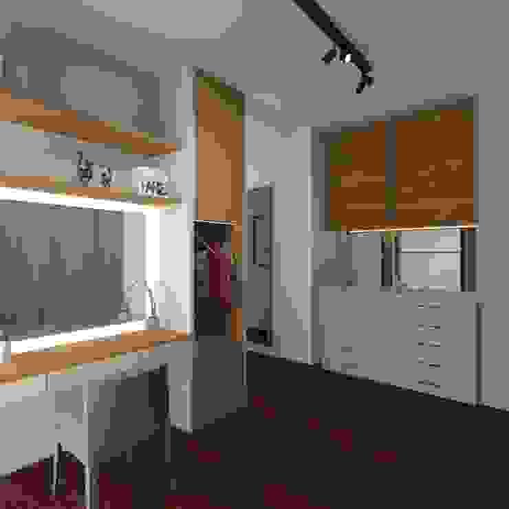 Walk in Closet Ruang Ganti Modern Oleh Noff Design Modern Kayu Lapis