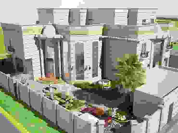 التصميم الخارجي للمبني من بازار للتصميم الداخلي كلاسيكي
