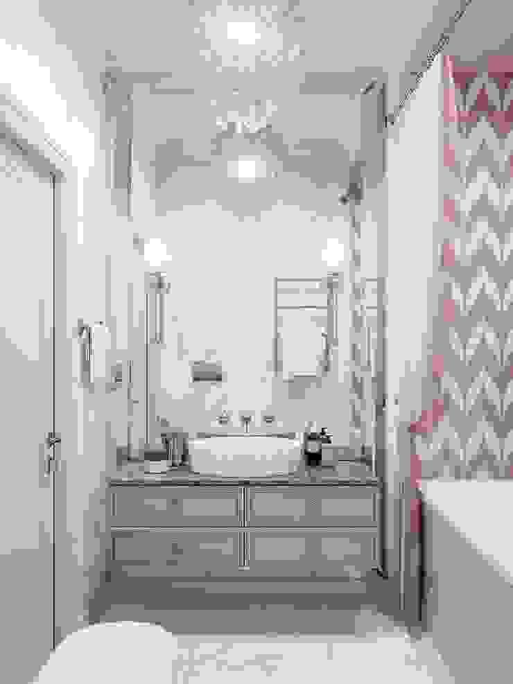 Klassische Badezimmer von Y.F.architects Klassisch Fliesen