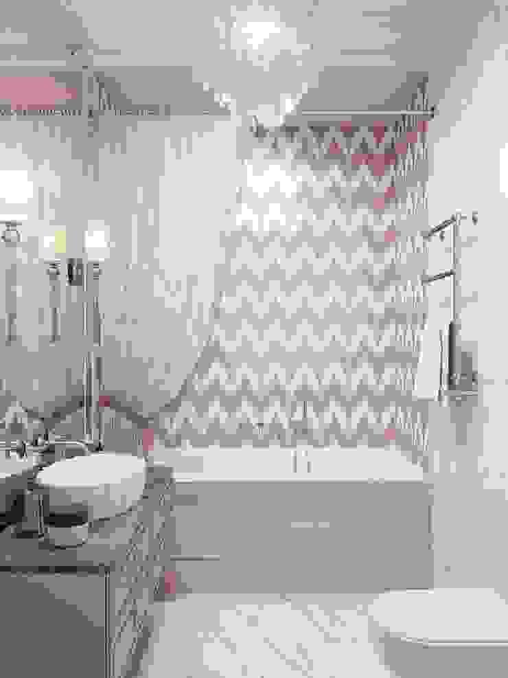 Salle de bain classique par Y.F.architects Classique Tuiles
