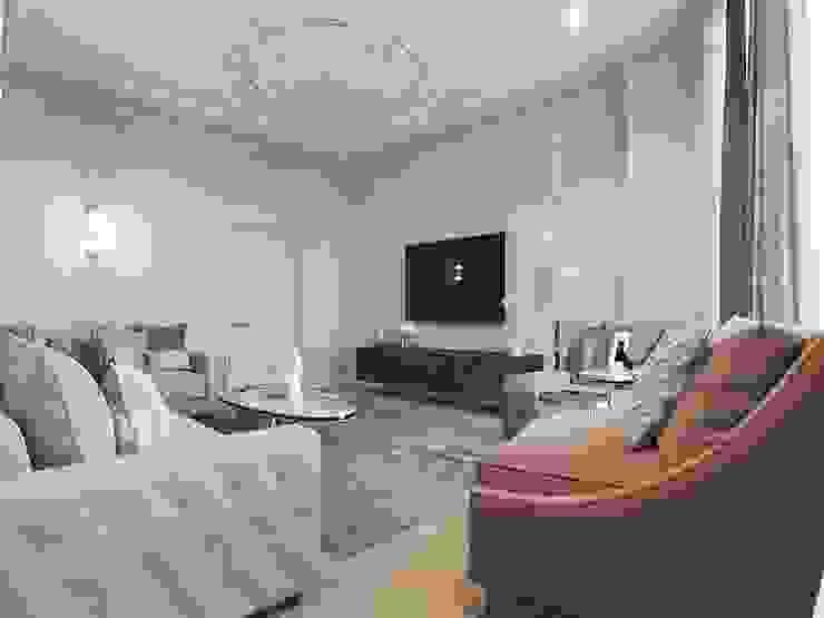 Klassische Wohnzimmer von Y.F.architects Klassisch