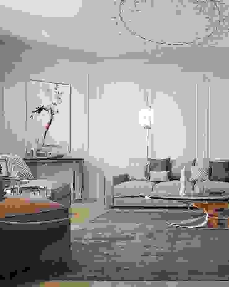 Salon classique par Y.F.architects Classique