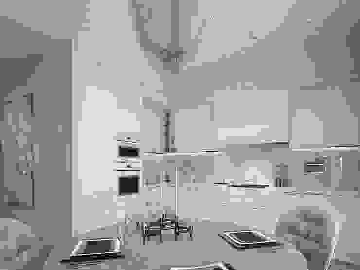 Cuisine classique par Y.F.architects Classique
