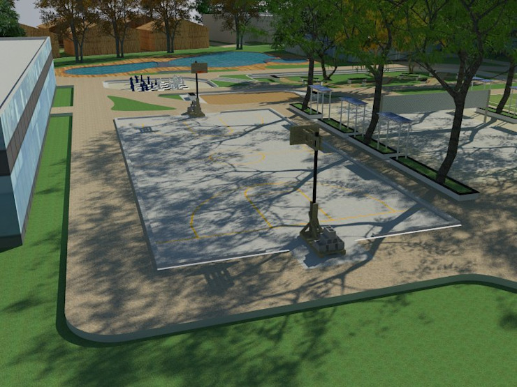 Playgrounds: modern  by Cfolios Design And Construction Solutions Pvt Ltd,Modern