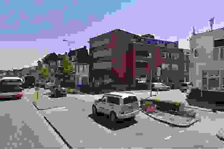 Winkel en Appartementen, Hoensbroek Moderne huizen van Verheij Architecten BNA Modern