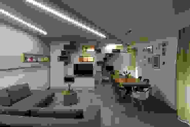 ISPIRAZIONI SCANDINAVE Studio di Progettazione e Design 'ARCHITÈ' Soggiorno in stile scandinavo